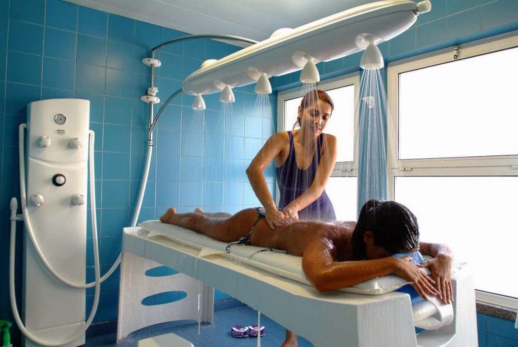 Контрастный водяной массаж