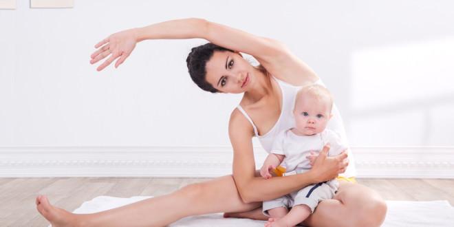Борьба с растяжками после родов