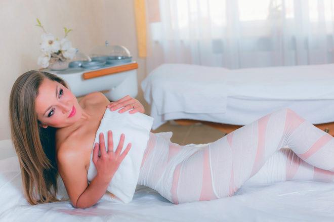 Польза компрессов от растяжек на груди