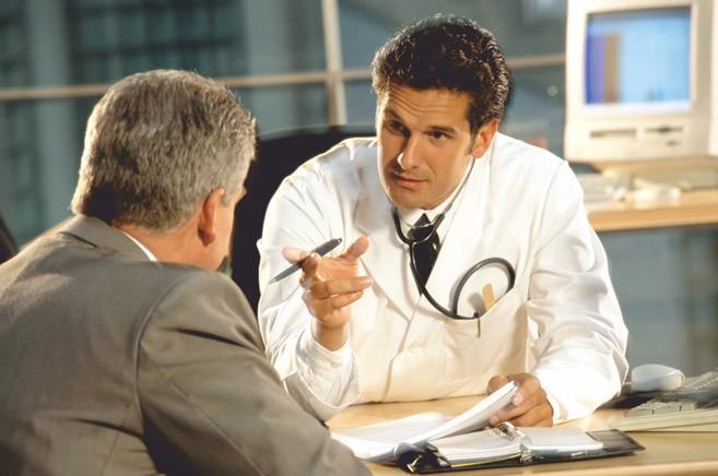 На приеме у врача уролога
