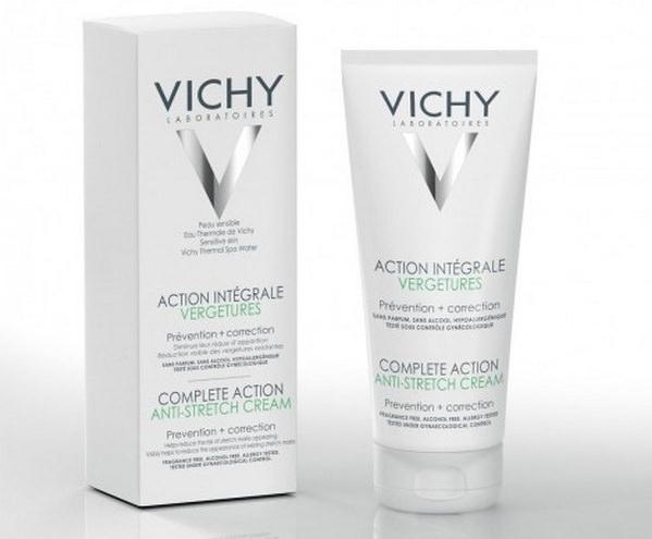 Обзор крема от растяжек Vichy