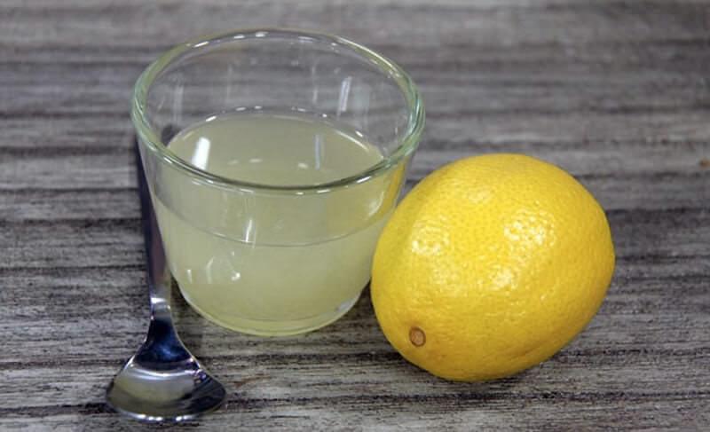 Сок лимона от рубцов