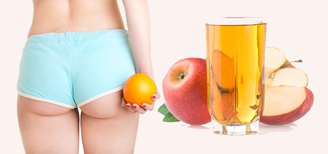 Польза яблочного уксуса в лечении растяжек