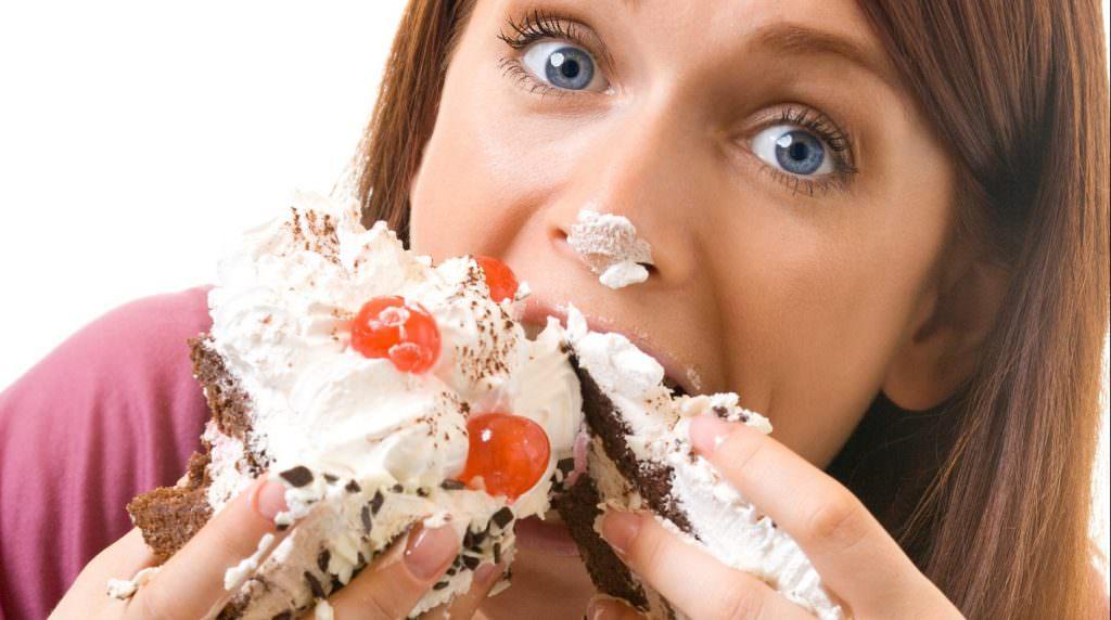 Отсутствие диеты