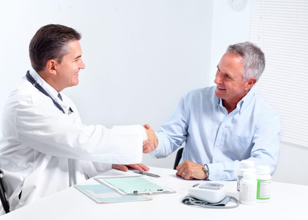 Пациент в клинике