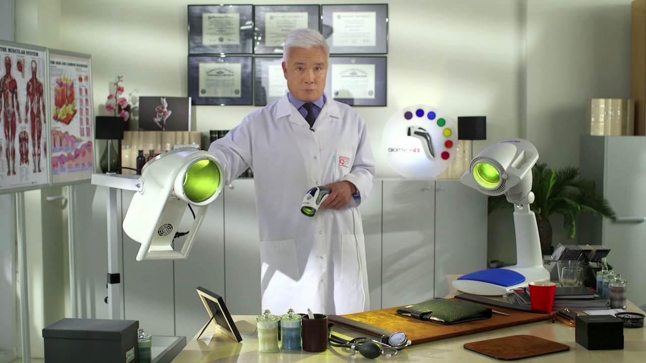 Доктор рассказывает о лампах